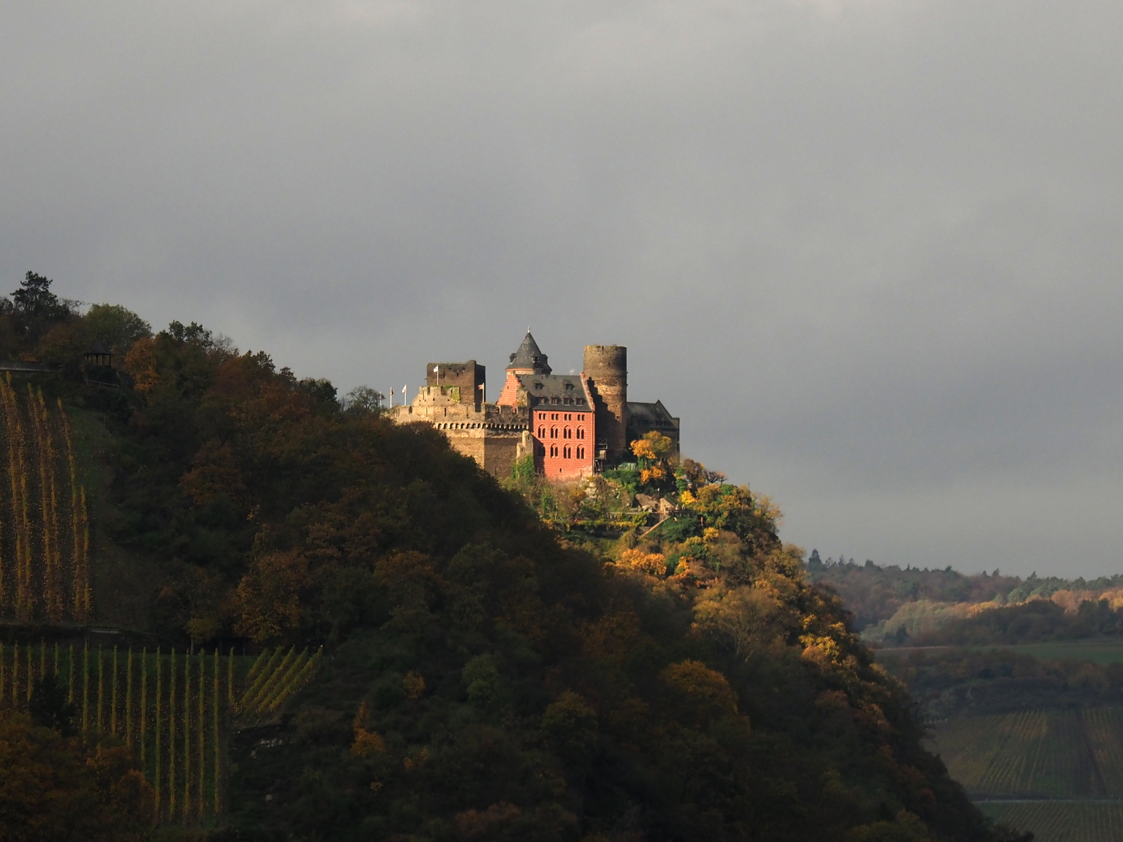 Castle on a hill