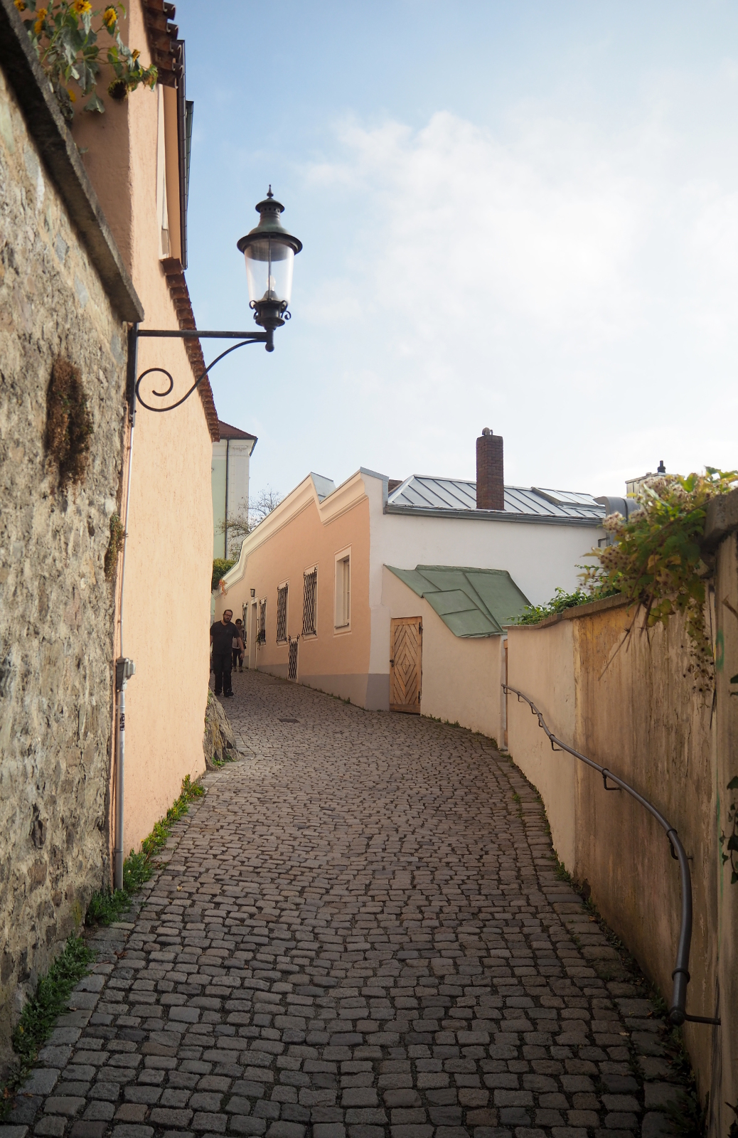 Alley in German town