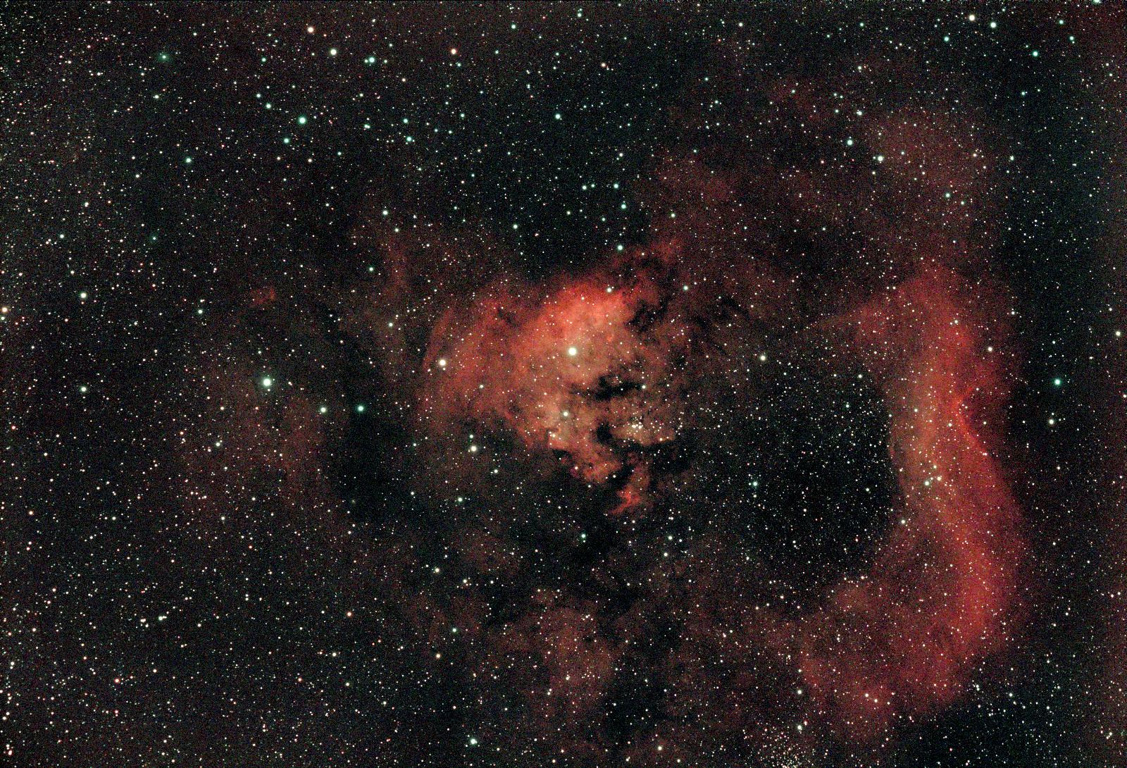 Nebula in Cepheus